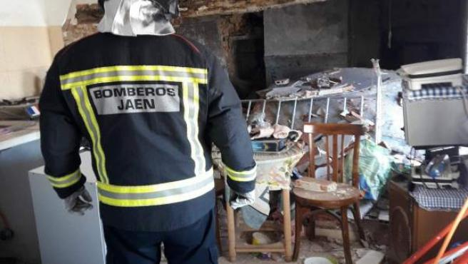 Bombero de Jaén (Archivo)