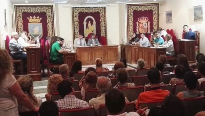 Pleno extraordinario del Ayuntamiento de Coria del Río