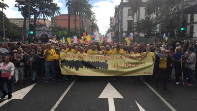 Manifestación del 17M en Las Palmas de Gran Canaria