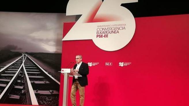 Ramón Jáuregui, hoy en Bilbao