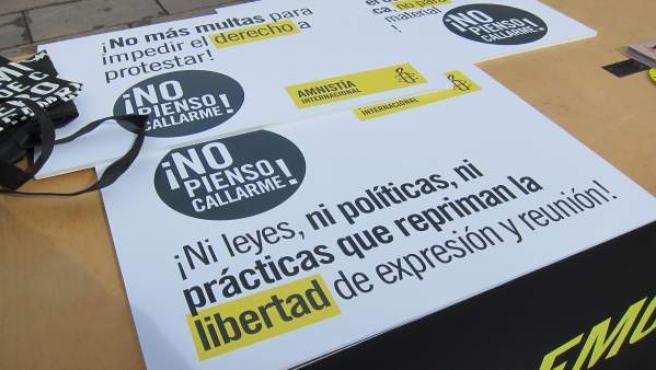 'Rechazo A La Ley Mordaza'