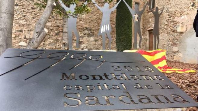 Montblanc se convierte en la Capital de la Sardana 2018