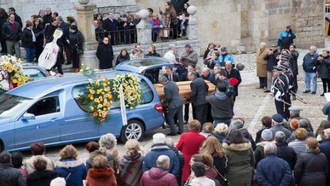 Toro.- Llegada de los restos mortales de López Cobos a Toro