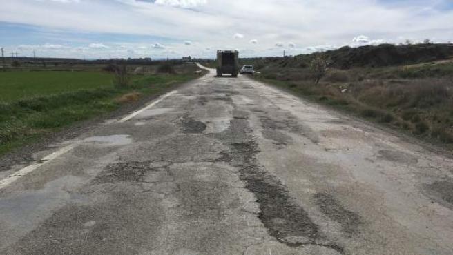 carretera autonómica HU-324