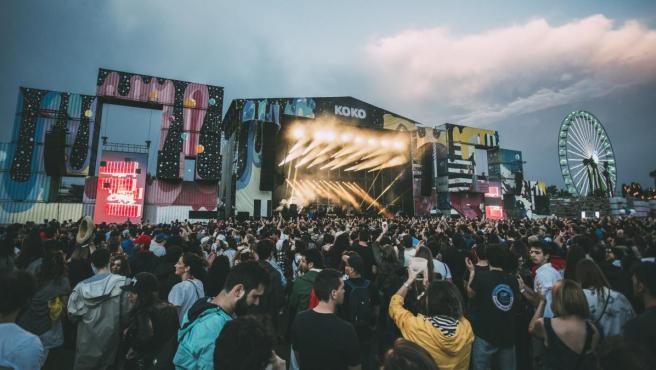 Fotografía de archivo del festival Mad Cool en 2017.