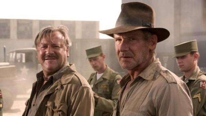 Harrison Ford en una escena de 'Indiana Jones y el reino de la calavera de cristal'.