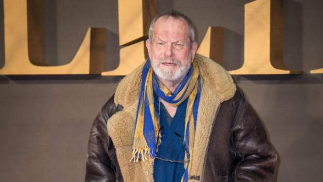 El actor, guionista, director Terry Gilliam.