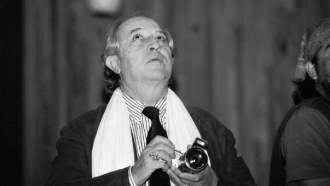El director de fotografía Vittorio Storaro en el Festival de Cine de Guadalajara (2010)