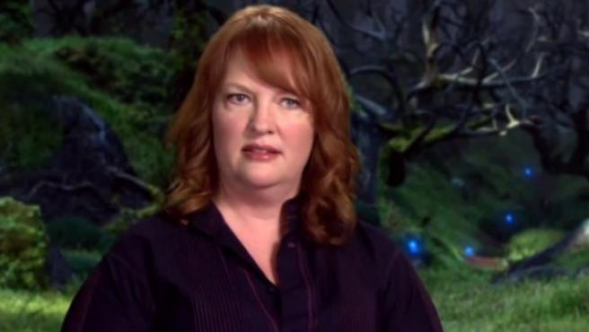 Brenda Chapman, codirectora de la película de animación 'Brave', en un vídeo promocional sobre el filme