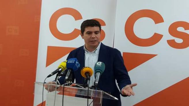 El parlamentario de Cs, Sergio Romero
