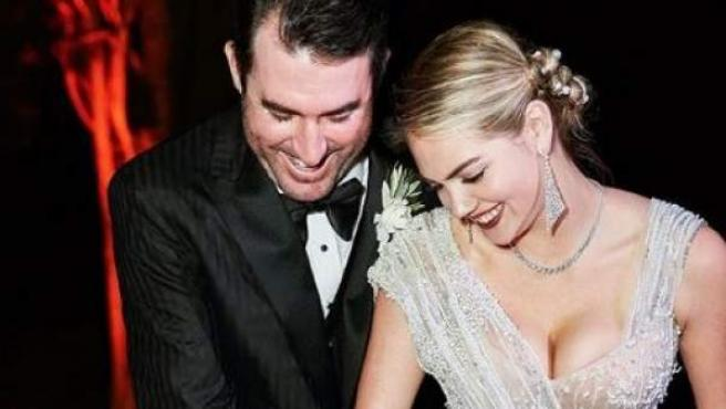 La boda italiana de la modelo Kate Upton.