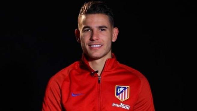 Lucas Hernández, jugador francés del Atlético de Madrid.