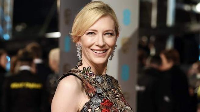 La actriz australiana Cate Blanchett.