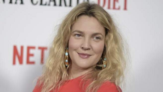 La actriz Drew Barrymore, de promoción en Los Ángeles (Estados Unidos) por su serie 'Santa Clarita Diet'.