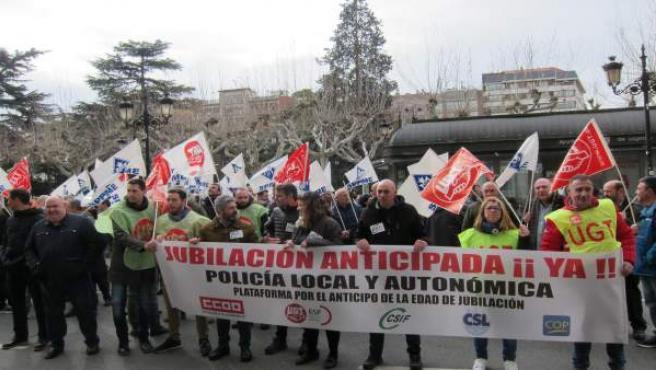 Concentración Policías Locales