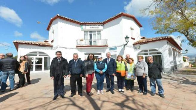 Reinauguración del mercado municipal de Churriana de Málaga capital