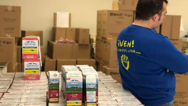 Inpavi entrega de alimentación ayuda a familias en exclusión social