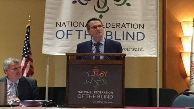 Fernando Riaño vicepresidente primero de la Unión Mundial de Ciegos