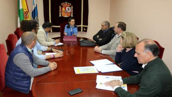 Reunión de la Subdelegación del Gobierno con el sector de los chiringuitos.