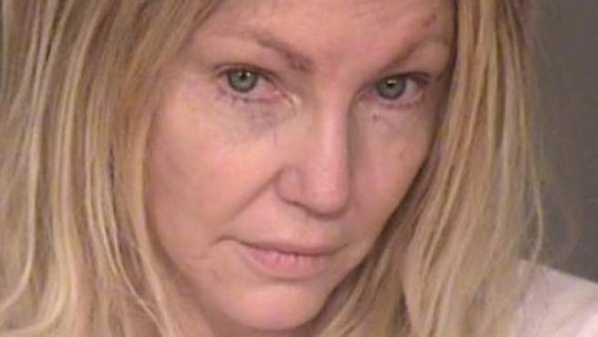 La actriz Heather Locklear, en una imagen cedida por el departamento de policía..