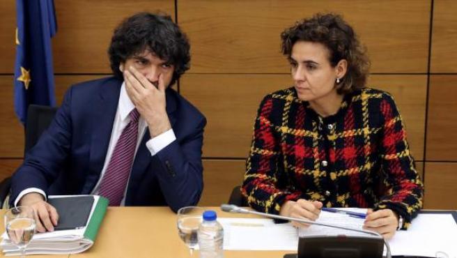 Dolors Montserrat en la reunión de la Conferencia Sectorial de Igualdad.