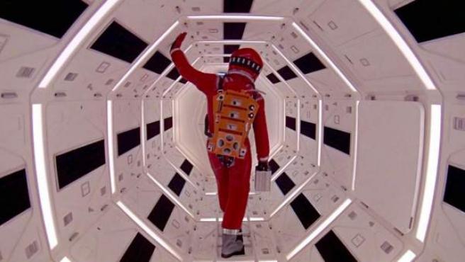 Una imagen del interior de la nave Discovery One en '2001: Una odisea del espacio' de Kubrick
