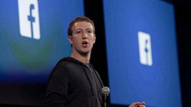 El cofundador y CEO de Facebook, Mark Zuckerberg.