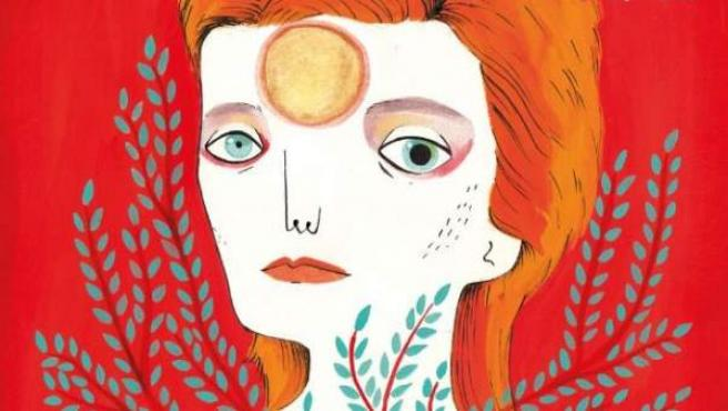 Portada del libro ilustrado por María Hesse 'David Bowie. Una biografía', con texto de Fran Ruiz