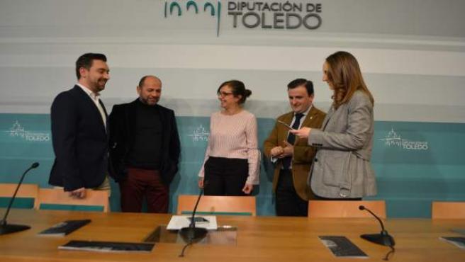 Diputación Toledo (Nota De Prensa, Cortes Y Fotografías) Presentación Mundial Th