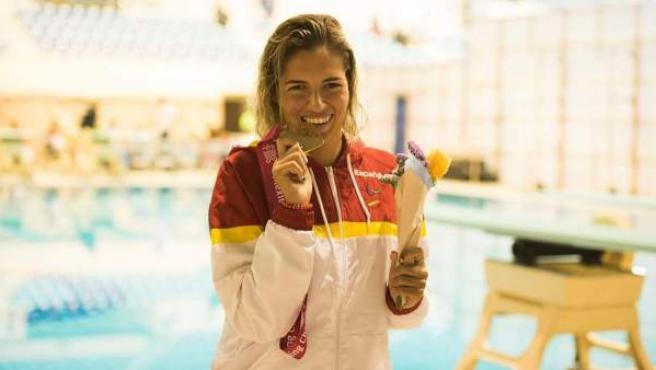 La doble campeona paralímpica Michelle Alonso.