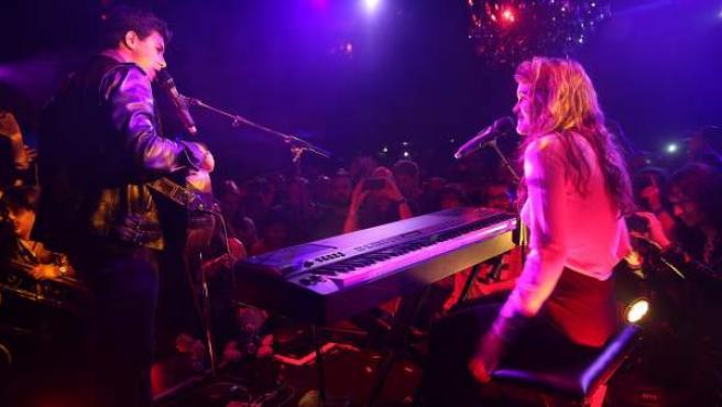 Amaia y Alfred en la London Eurovision Party.