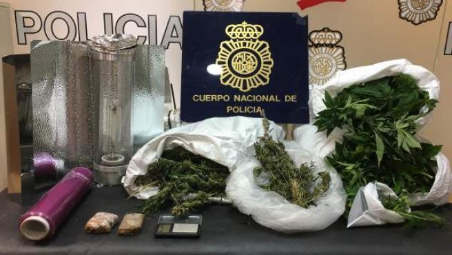 Marihuana intervenida en Algeciras