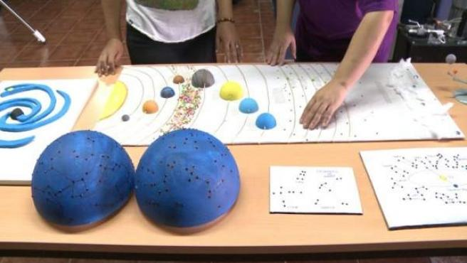Astronomía Táctil en el Observatorio Astronómico de Monfragüe
