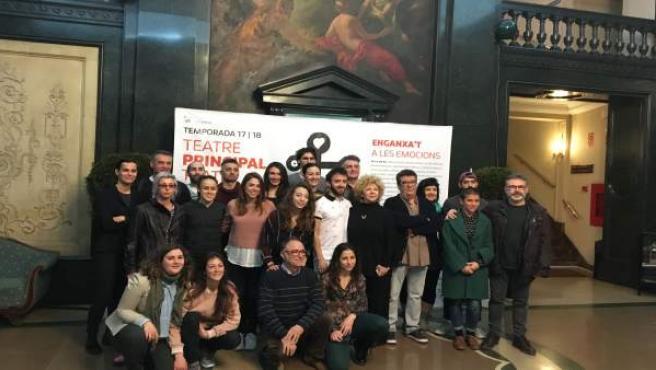 Presentació en el Teatre Principal de 'Divines Paraules' i 'Lo inevitable'