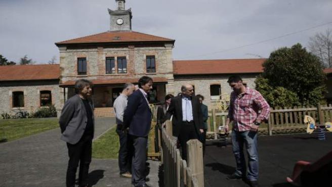 Inauguración del nuevo parque infantil de La Galana y otras áreas de juego