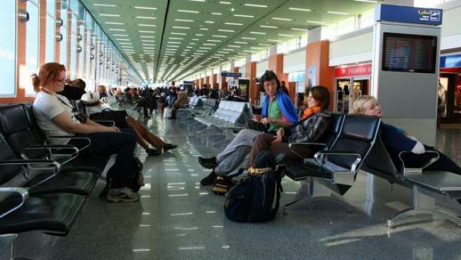 Una imagen del aeropuerto de Casablanca, Marruecos.