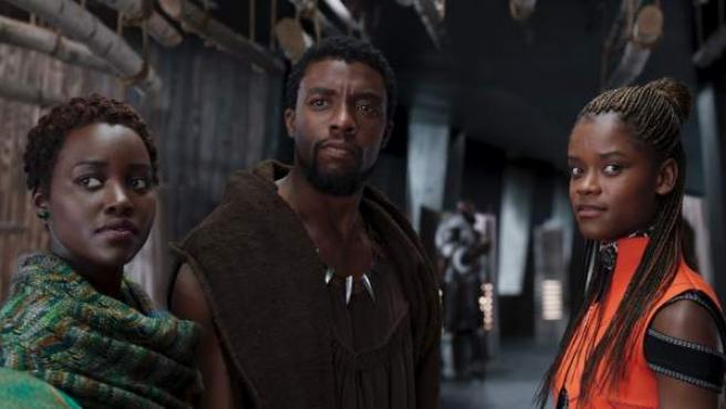 Una escena de 'Black Panther', protagonizada por Chadwick Baseman.