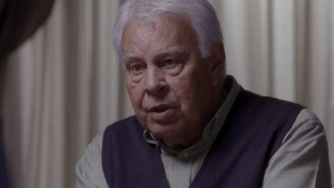 El expresidente del Gobierno Felipe González, en el programa 'Salvados', de La Sexta.