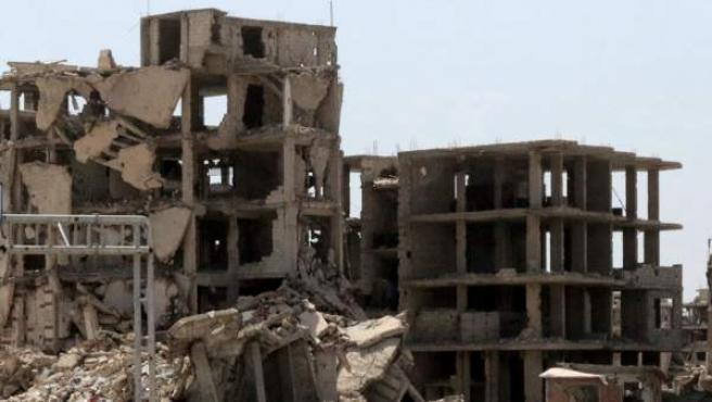 Ataque en un aeropuerto militar en Siria.