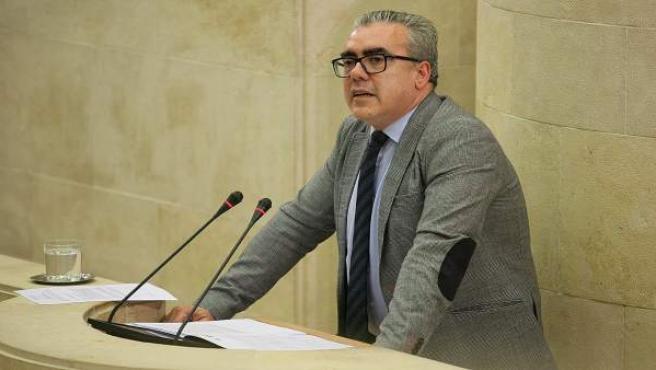 Pedro Hernando, portavoz del PRC en el Parlamento