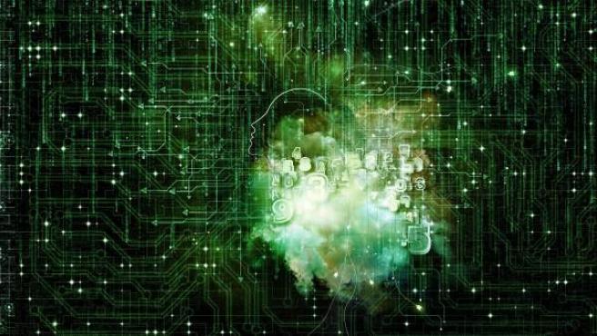 Representación artística de la inteligencia artificial, en una imagen de archivo.