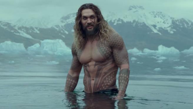 Jason Momoa enseña los reshoots de 'Aquaman'