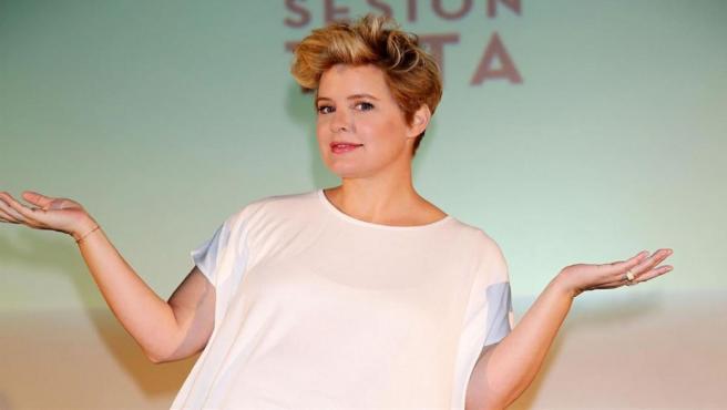 Imagen de archivo de la presentadora Tania Llasera.