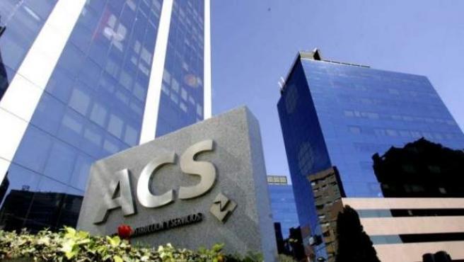 La sede de ACS en Madrid.