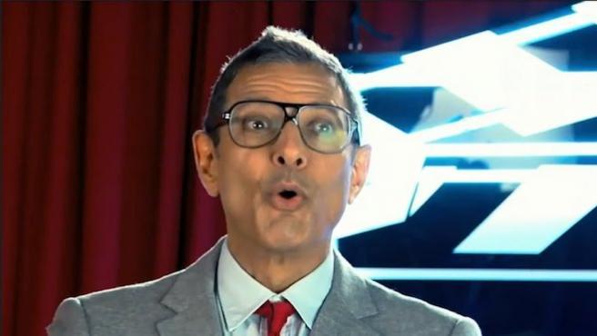 [Vídeo del día] ¿Cuántos ruiditos sabe hacer Jeff Goldblum?