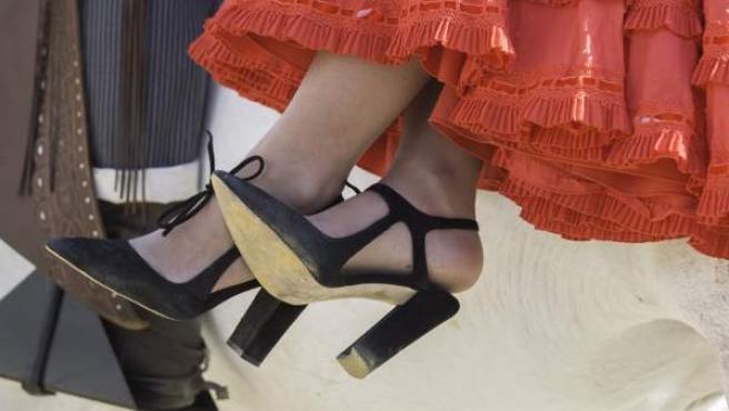El calzado adecuado para la Feria de Abril debe ser cómodo para que los pies no se resientan en todo el día.