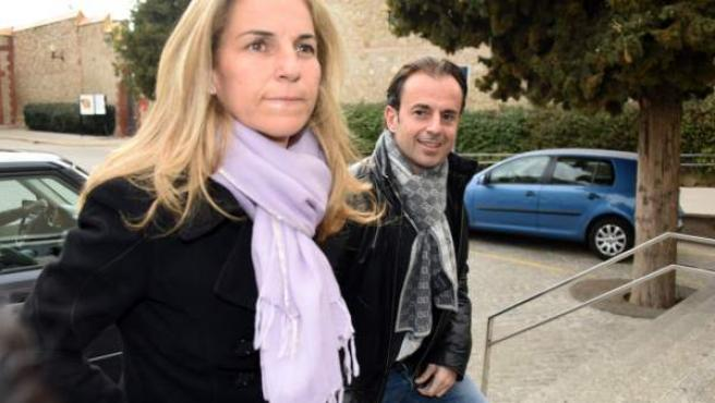 Imagen tomada hace dos años de Arantxa Sánchez Vicario con Josep Santacana.