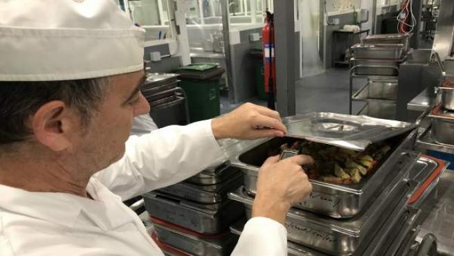 Cocinero menú hospital Carlos Haya Regional alimentación ecológica premio