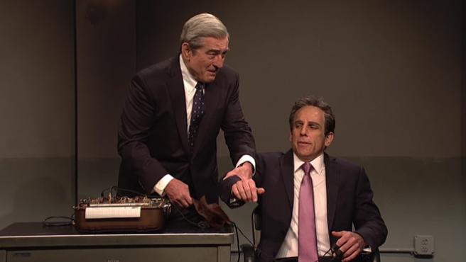 De Niro y Stiller regresan a 'Los padres de él' para parodiar al abogado de Trump
