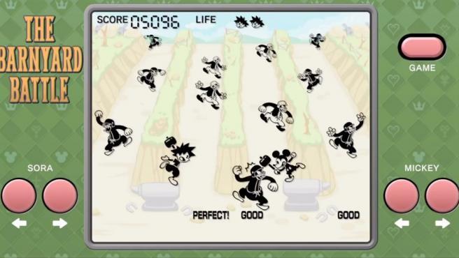 Captura de uno de los minijuegos de maquinita incluidos en Kingdom Hearts III.